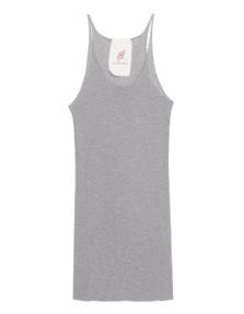 FRIENDLY HUNTING Pury Long Top Light Grey Melange