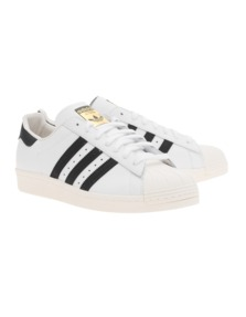 ADIDAS ORIGINALS Superstar 80s White Black