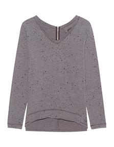 GWYNEDDS Wilma The Sweatshirt Dots Dark Chocolate