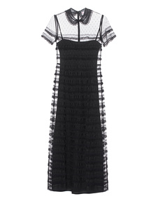 RED VALENTINO Long Lace Black