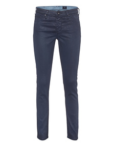 AG Jeans The Legging Ankle Leatherette Navy