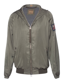 TRUE RELIGION Bomber Military Green