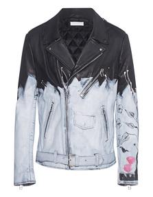 FAITH CONNEXION Tag Leather Jacket