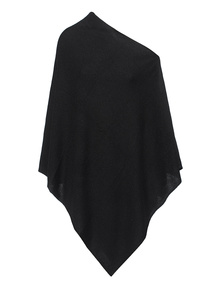 ALBEROTANZA Magic Poncho Black