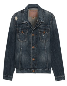 TRUE RELIGION Dylan Jacket Concrete