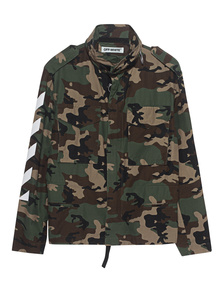 OFF-WHITE C/O VIRGIL ABLOH Military Jacket Camouflage
