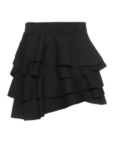 DKNY Ruffles Mini Soft Scuba Black