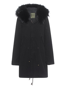 MR & MRS ITALY Parka Quilt Black