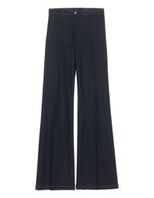 AG Jeans The Lana Wide Leg Dark Blue