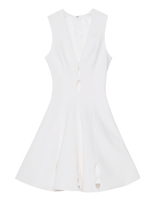 CUSHNIE ET OCHS Power Oval Cut Out White