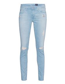 AG Jeans The Legging Ankle Destroy Light Bue