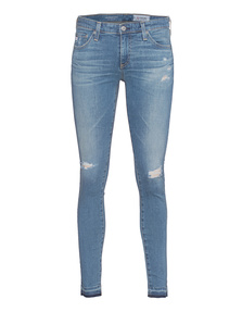 AG Jeans The Legging Ankle 18 Years Blue