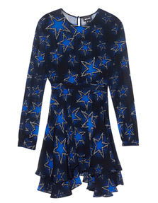 JUST CAVALLI Stars Blue Black