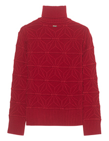 DSQUARED2 Turtle Neck Red