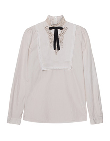DSQUARED2 Embroidered Lace Off-White