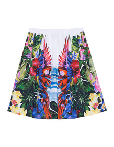 DSQUARED2 Flared Exotic Jungle