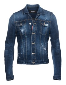DSQUARED2 Vintage Denim Blue