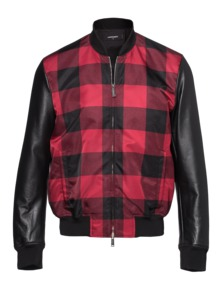 DSQUARED2 Checked Style College Black