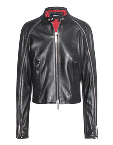 DSQUARED2 Zipper Smooth Black