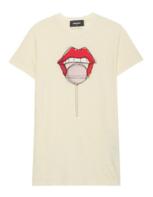 DSQUARED2 Lollipop Lips Yellow