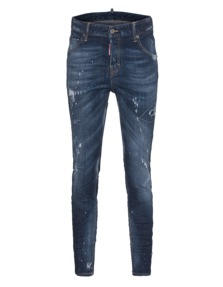 DSQUARED2 Cool Girl Jean Long Crotch Tight Bottom Art