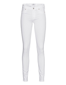 7 FOR ALL MANKIND The Skinny Slim Illusion Luxe White