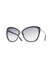 TOM FORD EYEWEAR Celia Black Grey Gradient