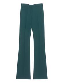 VICTORIA, VICTORIA BECKHAM Alpine Trouser Green