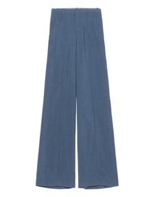 VINCE Pintuck Wide Leg Blue