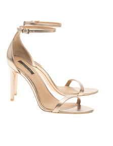 Rachel Zoe Collection Ema Metallic Pale Gold