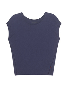 TRUE RELIGION Boxy Crew Indigo Blue