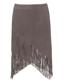 TRUE RELIGION Fringe Mini Grey