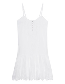 TRUE RELIGION Voile Dress White