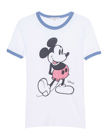 JUNK FOOD CLOTHING Mickey Mouse White