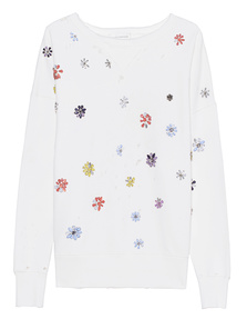 FAITH CONNEXION Flowers Embroidery Sweater