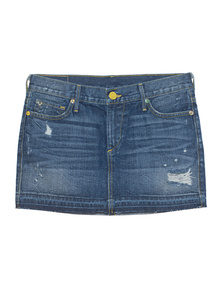 TRUE RELIGION Alexia Mini Skirt Vintage RLG