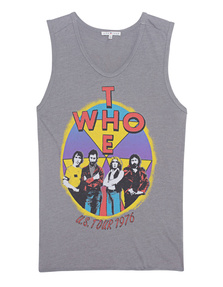 JUNK FOOD CLOTHING The Who Grey