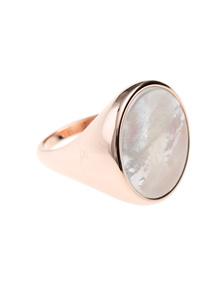 BRONZALLURE Alba Pearl Disc Ring