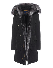 WOOLRICH Military Parka Fox Black