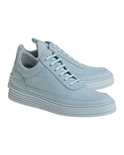 Filling Pieces Low Top Tone Baby Blue