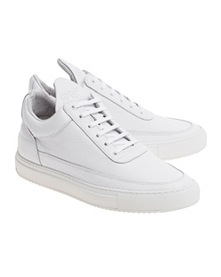 Filling Pieces Low Top Classic White