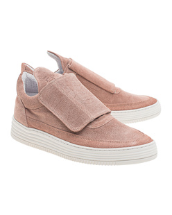 Filling Pieces Low Top Single Velcro Nude