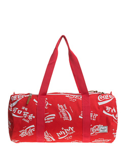 HERSCHEL SUPPLY CO. Duffle Coca Cola Red