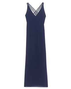 YOUNG COUTURE BY BARBARA SCHWARZER Long Back Cross Navy
