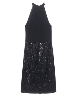 YOUNG COUTURE BY BARBARA SCHWARZER High Waist Sequin Lace Black