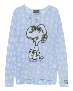 PRINCESS GOES HOLLYWOOD Cool Snoopy Heart Baby Blue