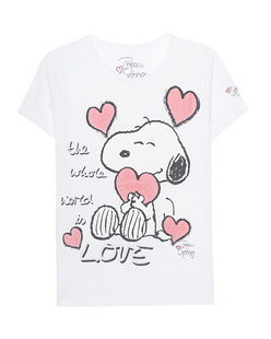 PRINCESS GOES HOLLYWOOD Snoopy Love White