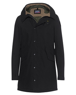 BLAUER USA Trench Lunghi Black