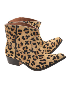One Teaspoon Le Rebel Bottie Leopard Hide