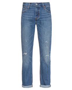 LEVI`S  501 CT Cropped Blue